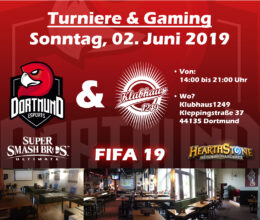 Gaming Event – 02.06.2019