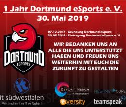 1 Jahr Dortmund eSports!